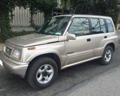 Bán xe Suzuki Vitara 2003 màu ghi hồng, số sàn giá 167 triệu tại Tp.HCM