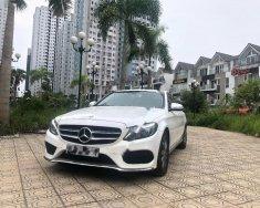Bán Mercedes-Benz C200 2015 màu trắng, nội thất kem giá 1 tỷ 150 tr tại Hà Nội