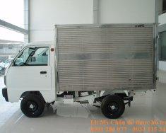 Bán xe tải Suzuki Truck 600kg (lắp ráp) thùng kín+giá cạnh tranh + trả góp lãi suất thấp+giao xe toàn quốc giá 264 triệu tại Tp.HCM