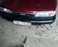 Cần bán lại xe Toyota Camry đời 1987, màu đỏ giá 86 triệu tại Tây Ninh