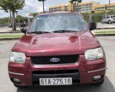 Bán Ford Escape sản xuất năm 2004, màu đỏ giá cạnh tranh giá 260 triệu tại Bình Dương