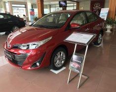 Bán Toyota Vios năm 2018 màu đỏ, 606 triệu giá 606 triệu tại Hải Phòng