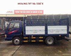 Bán xe tải JAC máy Isuzu 2 tấn 4. Xe tải 2 tấn 4 thùng mui bạt giá rẻ nhất giá 200 triệu tại Tp.HCM