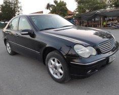 Cần bán xe Mercedes C200K đời 2003, màu đen, số sàn, máy 2.0 cực chất giá 183 triệu tại Tp.HCM