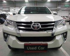 Bán xe Toyota Fortuner 2.7V 4x2 AT đời 2017, màu trắng, nhập khẩu   giá 1 tỷ 250 tr tại Tp.HCM