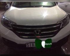 Cần bán gấp Honda CR V 2.0 AT sản xuất năm 2013, màu trắng giá 745 triệu tại Tp.HCM
