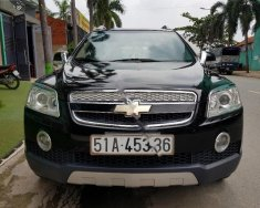Bán xe Chevrolet Captiva LT đời 2008, màu đen  giá 288 triệu tại Tp.HCM