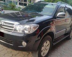 Bán xe Toyota Fortuner đời 2010 số sàn máy dầu, màu đen bóng loáng giá 617 triệu tại Tp.HCM