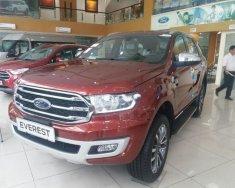 Bán ô tô Ford Everest Titanium 2.0L 4x2 AT 2018, màu đỏ, nhập khẩu giá 1 tỷ 177 tr tại Hà Nội