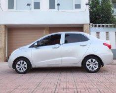 Cần bán gấp Hyundai Grand i10 MT 2018, màu bạc đẹp như mới giá 348 triệu tại Hà Nội