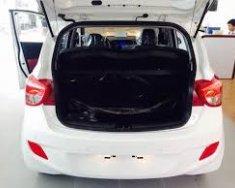 Bán xe Hyundai Grand i10 1.2. AT SX 2018 trắng giá 445 triệu tại Đắk Lắk