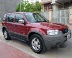 Cần bán xe Ford Escape 2002, màu đỏ chính chủ, giá 135tr giá 135 triệu tại Tp.HCM