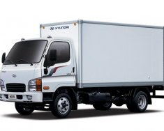 Bán Hyundai Mighty HD700 7 tấn, thùng kín, sản xuất năm 2018, màu xanh lục, 695 triệu, hỗ trợ trả góp giá 695 triệu tại Hà Nội