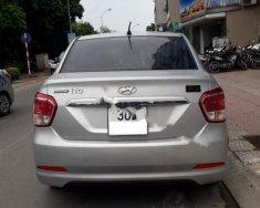 Cần bán Hyundai Grand i10 1.2 MT sản xuất 2016, màu bạc, tư nhân chính chủ giá 368 triệu tại Hà Nội