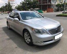 Cần bán gấp Lexus LS 460L năm sản xuất 2008, màu bạc giá 1 tỷ 190 tr tại Tp.HCM