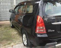 Cần bán lại xe Toyota Innova MT 2007, màu đen giá 365 triệu tại Tp.HCM