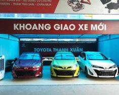 Cần bán xe Toyota Yaris đời 2018, màu xanh lục, nhập khẩu giá 650 triệu tại Hà Nội