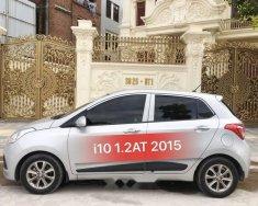 Bán ô tô Hyundai Grand i10 1.2AT đời 2015, màu bạc, xe nhập số tự động giá cạnh tranh giá 378 triệu tại Hà Nội