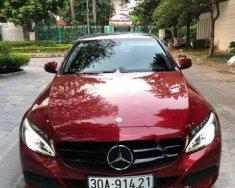 Bán xe Mercedes Benz C200 đời 2015 màu đỏ, biển số HN, xe đi 3,2 vạn miles giá 1 tỷ 150 tr tại Hà Nội