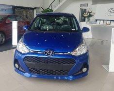 Bán Hyundai Grand i10 1.2AT sản xuất 2018, màu xanh lam, giá tốt giá 405 triệu tại BR-Vũng Tàu