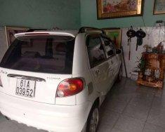 Cần bán lại xe Daewoo Matiz SE 2008, màu trắng ít sử dụng giá 137 triệu tại Bình Dương