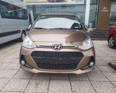 Bán ô tô Hyundai Grand i10 năm 2018, màu nâu, giá 370tr giá 370 triệu tại BR-Vũng Tàu