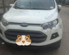 Cần bán lại xe Ford EcoSport 1.5 MT 2016, màu trắng, còn bảo hành tại hãng giá 499 triệu tại Tp.HCM