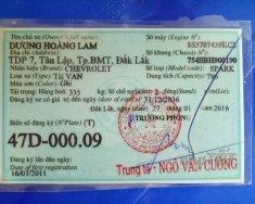 Cần bán gấp Chevrolet Spark đời 2011, xe bao đẹp, chạy êm giá 135 triệu tại Đắk Lắk