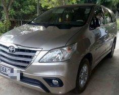 Cần bán xe Toyota Innova đời 2015, màu bạc xe gia đình giá cạnh tranh giá 600 triệu tại Thanh Hóa