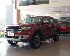 Cần bán xe Ford Everest 4WD 2.0L Bi-Turbo đời 2018, màu đỏ giá 1 tỷ 399 tr tại Hà Nội