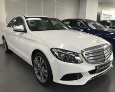 Bán xe Mercedes C250 trắng cũ - lướt 6/2018 chính hãng giá 1 tỷ 689 tr tại Tp.HCM