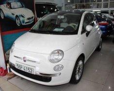 Bán Fiat 500 1.2 AT sản xuất năm 2009, màu trắng, xe nhập giá 580 triệu tại Tp.HCM