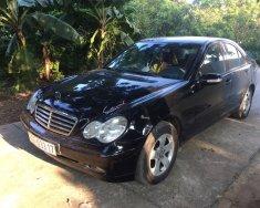 Cần bán Mercedes C180 đời 2003 màu đen, số tự động giá 219 triệu tại Hà Nội