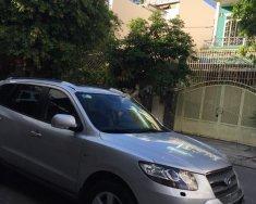 Bán Hyundai Santa Fe SLX 2009, màu ghi bạc, nhập khẩu nguyên chiếc từ Hàn Quốc giá 640 triệu tại Khánh Hòa