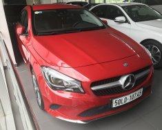 Bán xe Mercedes CLA200 đỏ cũ - lướt 6/2018 chính hãng giá 1 tỷ 459 tr tại Tp.HCM