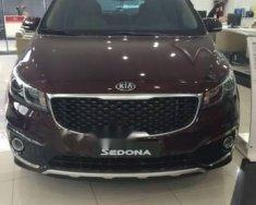 Bán ô tô Kia Sedona sản xuất năm 2018, màu đỏ giá 1 tỷ 409 tr tại Tp.HCM