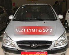Bán Hyundai Getz 1.0MT năm 2010, màu bạc, nhập khẩu nguyên chiếc giá 225 triệu tại Hà Nội