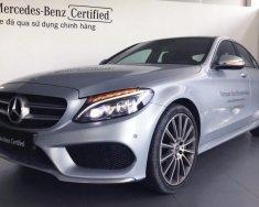 Bán xe Mercedes C300 2017 bạc cũ - lướt 6/2018 chính hãng giá 1 tỷ 819 tr tại Tp.HCM