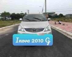 Cần bán lại xe Toyota Innova G đời 2010, xe đẹp không lỗi giá Giá thỏa thuận tại Hưng Yên