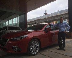 Bán Mazda 3-bản 2.0 sx năm 2017 chính chủ, màu đỏ giá cạnh tranh 710 triệu đồng giá 710 triệu tại Hà Nội