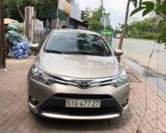 Bán Toyota Vios E sản xuất năm 2017, màu vàng số sàn giá 505 triệu tại Hà Nội
