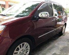 Bán ô tô Toyota Sienna Limited sản xuất 2008, màu đỏ, nhập khẩu nguyên chiếc giá 850 triệu tại Tp.HCM