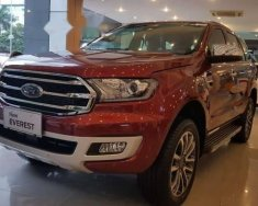 Bán Ford Everest Titanium 4x2 2.0L đời 2018, màu đỏ giá 1 tỷ 177 tr tại Hà Nội
