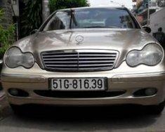 Bán xe Mercedes C200 đời 2003, màu vàng, nguyên bản từ đầu đến cuối giá 230 triệu tại Tp.HCM