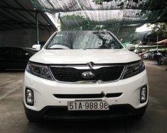 Bán ô tô Kia Sorento đời 2014, màu trắng, cửa sổ trời giá 755 triệu tại Tp.HCM
