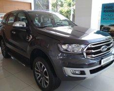 Bán Ford Everest Trend 2.0L 4x2 AT 2018, màu xám giao ngay tại Hà Nội, trả góp 80% giá 1 tỷ 112 tr tại Hà Nội