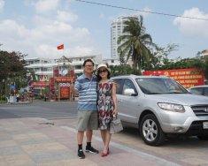 Bán xe Santa Fe 2009 bạc Đk 2014 nhập khẩu nguyên chiếc từ Hàn Quốc giá 640 triệu tại Khánh Hòa