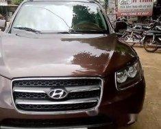 Bán Hyundai Santa Fe sản xuất năm 2008, màu nâu số tự động giá 445 triệu tại Đắk Lắk