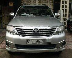 Bán Toyota Fortuner 2013, màu bạc số tự động giá cạnh tranh giá 650 triệu tại Tp.HCM
