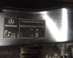 Cần bán xe Mercedes c200 đời 2001, xe nguyên bản, chưa bị đâm đụng trầy xước gì giá 230 triệu tại Hải Dương
